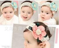 Fashion Design Baby Girls Kids Infants Children Newborn Big Flower Headband Headwear Hair Accessories   #