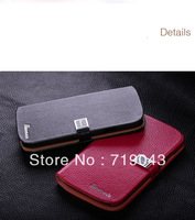 Luxury Leather Wallet Case Skin Shell For Samsung Galaxy I9082 Stand cover  Free shipping