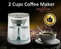 2 Cups 0.3L Best Coffee Machine Automatic Pump Pressure American Keurig Nespresso Coffee Maker Machine, Good Gift, Free Shipping