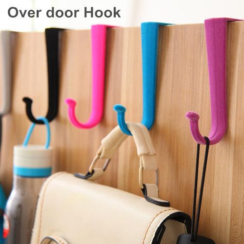 10 pcs/Lot Over door Hook S hook Door hanger Clothes hook Wall hat rack Saloon Furniture Decorative Novelty household 8527(China (Mainland))