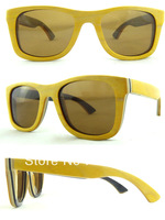 Free Shipping 2013 New Arrive High Quality 100% Handmade Wood Frame With Polarized Lens Sunglasses Women Z68004-9