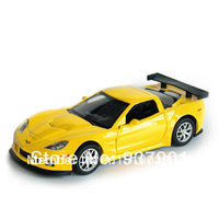 Alloy Car Model 1:32 Chevrolet  Vehicle Simulation Diecast Pull Back Toys for Children Kids Two Doors Open Free Shipping