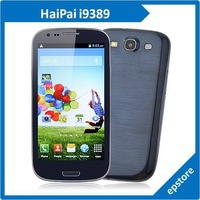 "HaiPai i9389 MTK6589 Quad core 4.7"" Screen 1GB RAM 4GB ROM 1.2GHz Smart phone GPS Bluetooth WIFI  3G Cell Phone Free Shipping"