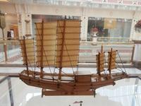China sail boat large junk  ship model Wooden model kit