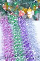 Free Shipping New 10pcs/lot Double Colour Volume Dragon Christmas Ribbon Christmas Tree Decorations