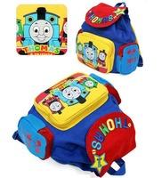 Children cartoon bag school bag canvas mochila boys backpack  kids new 2013 WH134