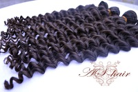 "4 Bundles Malaysian Virgin Hair Weft Deep wave 12""-28"" human hair extension free shipping"