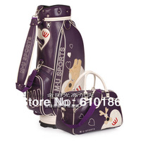 Wholesale fashion Mu golf ball bag ,women's golf cart bag ,send golf clothing bag, standard golf ball bag,free shipping