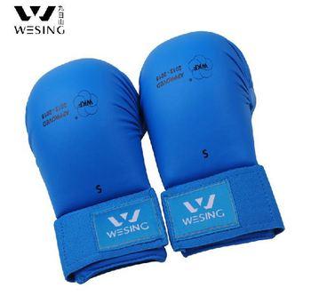 Каратэ перчатки \ каратэ варежки / PU мягкой поверхности кожи, Интегрально-литой, На липучке объединенная, Перчатки с открытыми пальцами