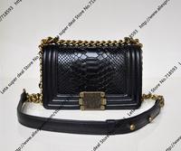 20CM S size Croco pattern Designer Chain Bag / Quality Cowskin & Lambskin Leather Material Classic Women Handbag (BG187)