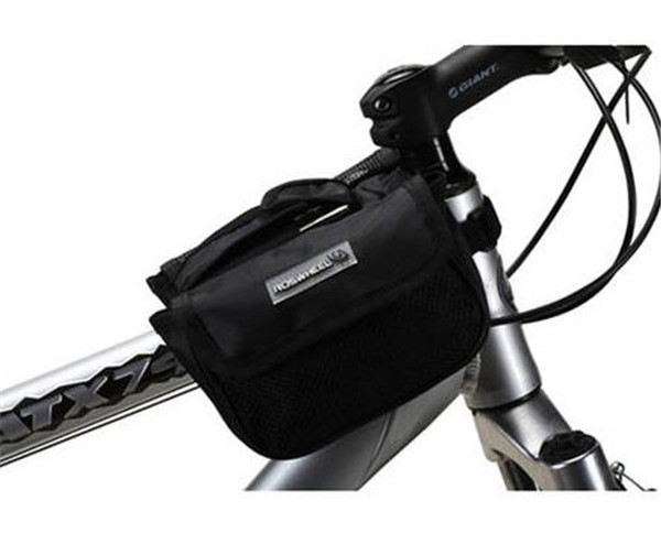 Free Shipping 2013 New Fashion Multi-Function Bike Bicycle Cycling Top Tube Bag Black-12152(China (Mainland))
