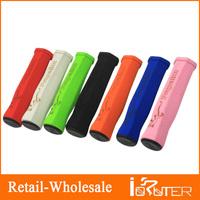 2014 Hot Sale  high density sponge resistant absorbent bicycle handlebar grips 120mm ultra light soft bike parts 6color