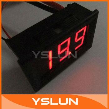 Digital Ammeter Ampere DC 0-20.0A Amp Panel Meter DC 4-30V Power Supply Red LED #090808