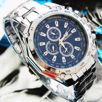 new 2014 men mechanical hand wind Relogios luxury Reloj Brand wristwatches mechanical male watch sports fashion steel  cassio