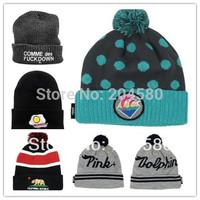 2015 new Sport knit beanie,Hip hop men women beanie hats,Sport skullies,Free Shipping