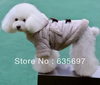 Free Shipping Small And Big Personalized Pet Dog Clothing For Winter Clothes/Coats/Apparel And Accessories  Wholesale