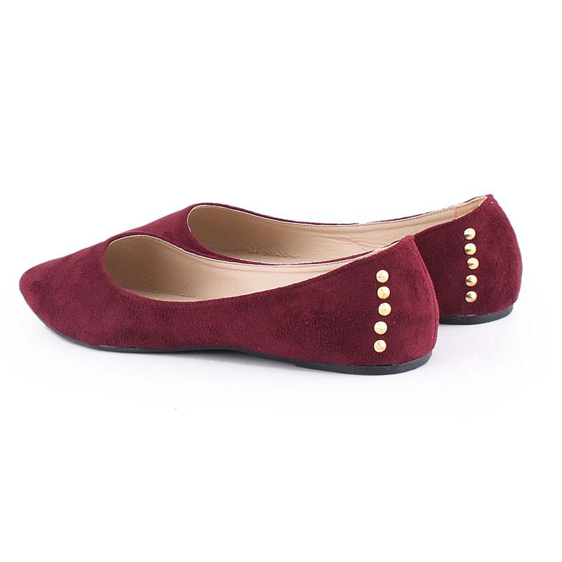 Женская обувь на плоской подошве Toe Sapatos J0450