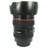 Black 1:1 Imitation Camera Lens Cup for Canon with Cap + Innovative Design