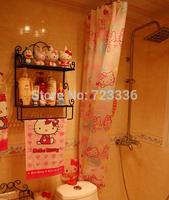 High-grade cartoon Shower Curtains Bathroom curtain waterproof shower curtain bath waterproof curtain free shipping