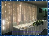 Wedding supplies christmas lights curtain  light 6 x 3 meters led string of lights Wedding backdrop Light