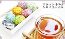 QS Special Grade 25pcs 150g 7 Flavor 20 year China Yunnan Puer Tea Organic Chinese Pu