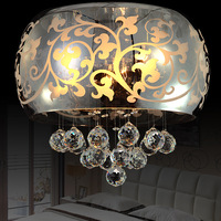 Free shipping luxury Fashion modern crystal lamp bedroom lamp study light