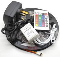 US/EU/AU/Plug 5M 3528 Non-Waterproof SMD LED Flexible Strip 300 leds 5m + Power adapter