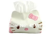 leather lovely domestic Pumping carton,hello kitty storage bag