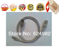 HOT-2013NEW,2pieces,USB 2.0 Y Cable for External Hard Drive ,USB-A Male to USB-A Male and Mini-B (5 Pin).,Free shipping