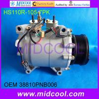 High Quality HS110R  ac compressor for Honda CRV  2.4L OEM : 38810PNB006 38870PNB006