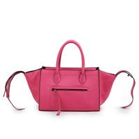 Genuine leather smiley bag star style bag cowhide cross-body bag female handbag 2013