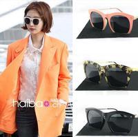 2014 Newest Branded Designer Sunglasses Women Fashion Jelly Sunglasses Unisex Vintage Retro Half Frame Sunglasses A+++   # WY124