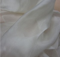 New arrival Silk Celine Tulle Fabric 100% mulberry silk White color 8 mm 114 cm 45'' width 34 gsm small wholesale