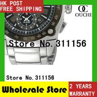Free Shipping NEW fashio brand Chronograph velatura yachting timer men sports full steel watch Fashion Luxury Watches SNAA95P1