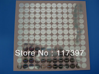 Hologram stickers one time use sticker  1000pcs/lot