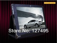 Free shipping 10.1inch  leather case for cube U30gt2 /U30gt1 High Quality + one OTG as gift
