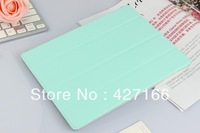 Free shipping Magnetic Multi-Color Slim Smart Cover PU Leather Case For iPad 2 3 4 Wake Up and Sleep Stand