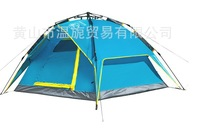 Free Shipping High Quality Canopy Family Portable Double Layer Hiking Tent Professional Four Persons Outdoor Camping Gazebo