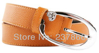 FREE SHIPPING Upscale peach heart diamond wide belt belt wholesale fashion wild female models