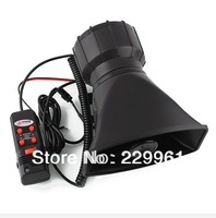 100W Car or Motorcycle Warning Siren Alarm Police Ambulance loudspeaker with MIC