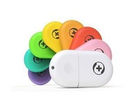 Querysystem 360 mini wifi wireless router usb router Fashion rainbow colors Routers[Free Shipping]