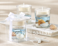 Creative Gift Candle wedding candle birthday candle ocean blue jelly candle