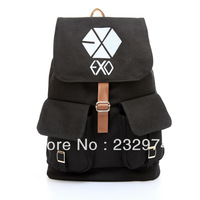 Exo backpack school bag double-shoulder with lid backpack 2013 bag