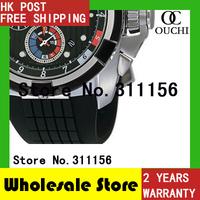 Christmas Gift Free Shipping New fashion Men Chronograph Sports Rubber Wrist Watch Luxury brand Watches SPC007P1 + gift Box