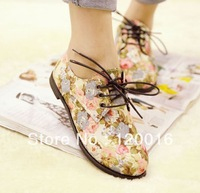 New 2013 Flats Women Shoes New  Autumn Winter Fashion  flat shoes canvas shoes casual shoes Korean Design