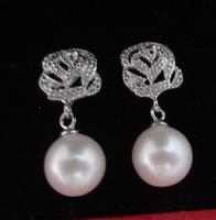 Free shipping Chunky Pearl Dangle Earrings Style Earrings for You  Bithday Gift Choice
