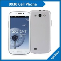 9930 4.7 inch Dual Core Dual Sim Cell phone MTK6577 1.0GHz 12MP Camera Android 4.0 Smartphone free shipping