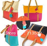 New Style 2013 Womens fringe handbag women brand shoulder bags leather vintage Totes messenger bag FREE SHIPPING AA316