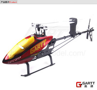 GARTT GT500 DFC TT RC  Helicopter  Torque Tube Version With Cool Canopy 100% fits Align Trex 500