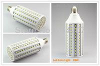 2pcs/lot High Brightness E27/E14/B22 28W 165LEDs SMD 5050 Corn Light Bulb Lamp Warm White / Pure White 220-240V/110V Free Ship